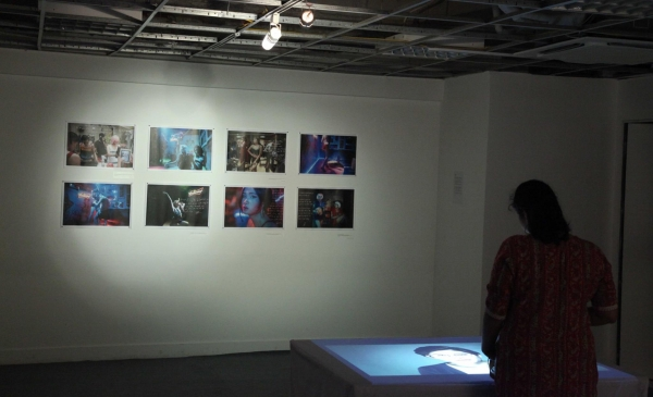 Photographs and video installation by Bùi Hoàng Long