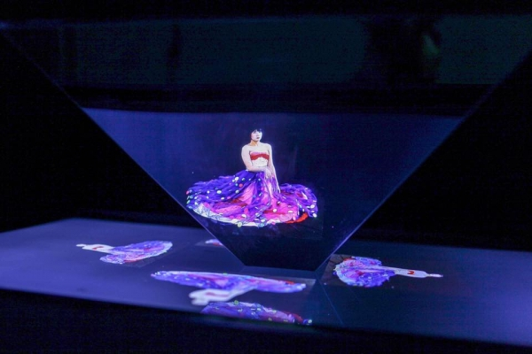 hologram of trans youth in hanoi