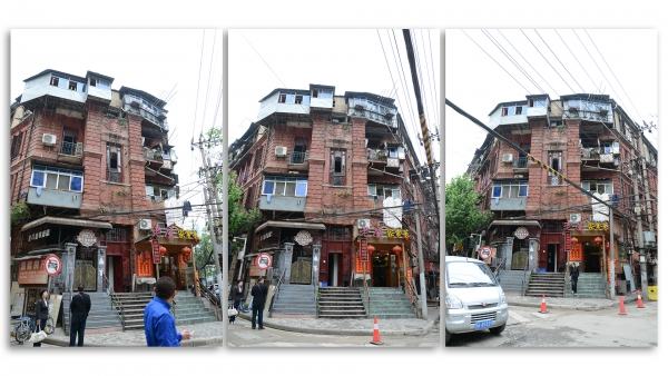 Former Russian tea merchant residence, Russian Concession, Old Hankou, Wuhan, China.