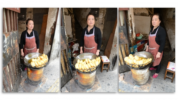 Street Vendor, Old Hankou, Wuhan, China.