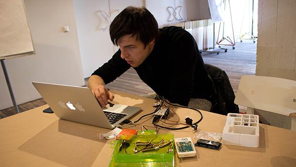Victor Kudryashov uses the Arduino