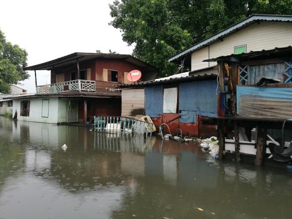 Flooded Chao Phraya