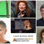 American Arts Incubator 2020: Lead Artist Announcement