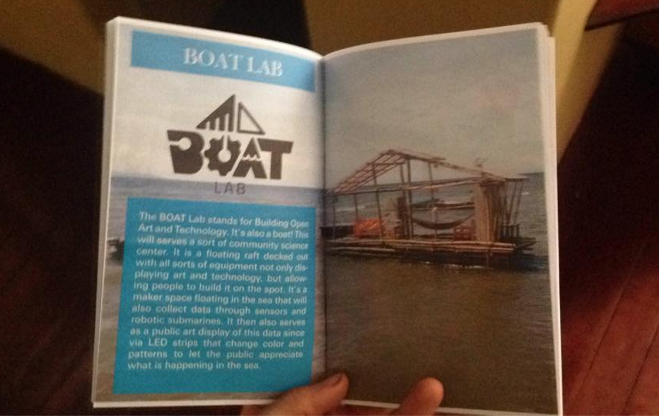 BOAT Lab booklets